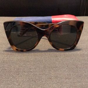 Le Specs Savanna Cat Eye Sunglasses